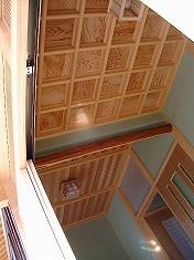 格天井と網代天井