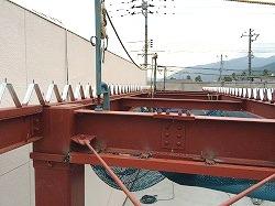 屋根折版葺き2