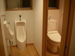 改修トイレ全景