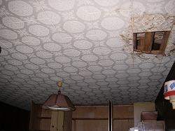 既存台所天井