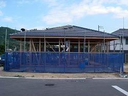屋根瓦葺き2