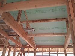 屋根断熱+通気層